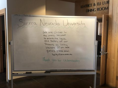 Handful of students stay on campus during corona shutdown