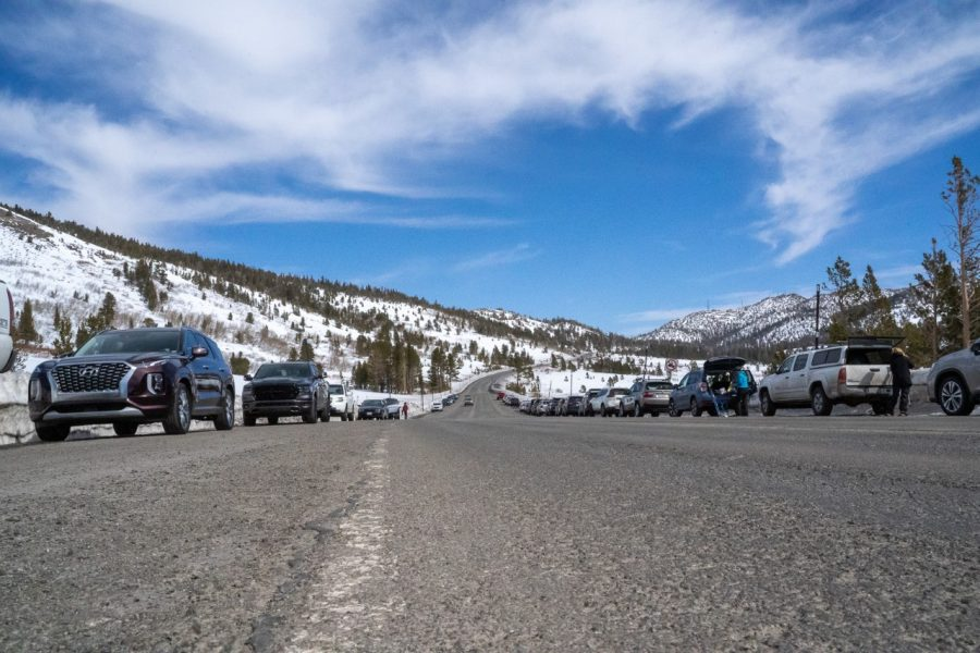 Mt Rose Meadows, a popular destination for tourists looking to get away from the Bay Area, has seen an increase in traffic.